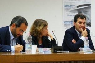 Umberto Ambrosoli e Mario Calabresi