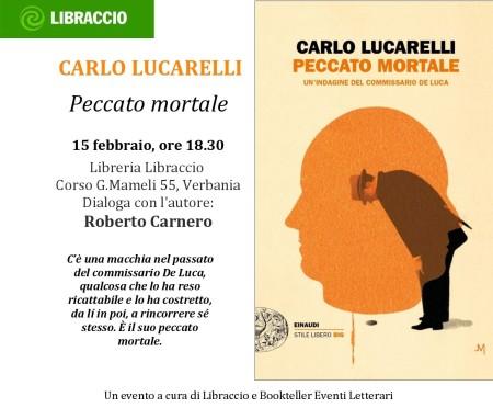 Carlo Lucarelli al Libraccio Verbania
