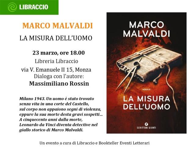 MALVALDI Libraccio_MONZA_23 marzo alle 18